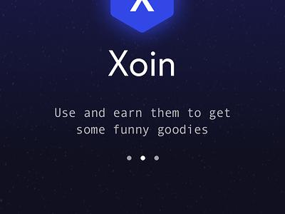 Xoin wallet app ui  ux design ui mobile iphone x app custom currency wallet app