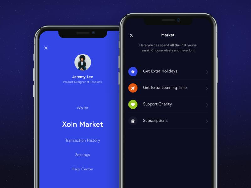 Xoin wallet app market