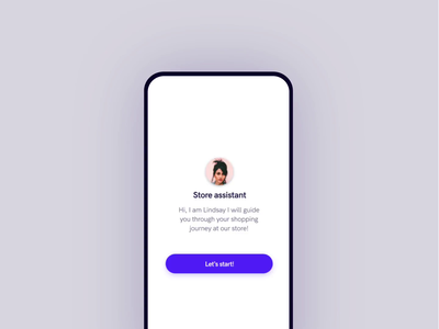 Chatbot shopping interaction mobile chatbot uidesign ui  ux uiux ui