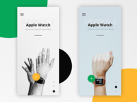Apple Watch Store Interface