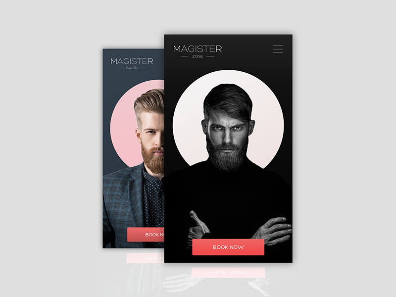 MAGISTER web design uidesign ux ui interface product service concept branding