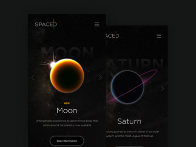 SPACED branding concept spacex designer uxdesign uidesign design appdesign app ux ui brading spaced spacedchallenge