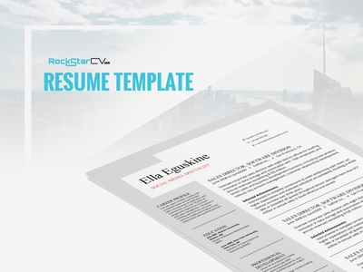 Resume Template Eguskine