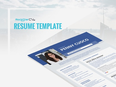 Resume Template Facebook