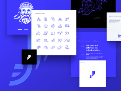 Joystream Branding visual design visual identity brand iconset logotype icons illustration branding graphic logo design