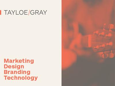 Tayloe/Gray Rebrand rebrand tayloegray brand development brand
