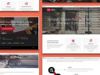First Bank SBA Website Redesign