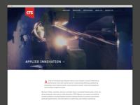 CTS: Cincinnati Thermal Spray Website Redesign