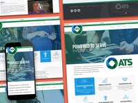 Applied Technology Solutions Website + Brand