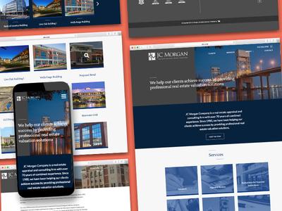 JC Morgan Website Redesign law attorney jc morgan website redesign website design