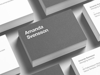 Business Card Stack Mock-Up