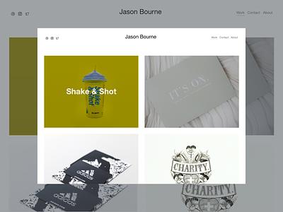Designer Portfolio designtocode ui web design web sketch redesign noob design