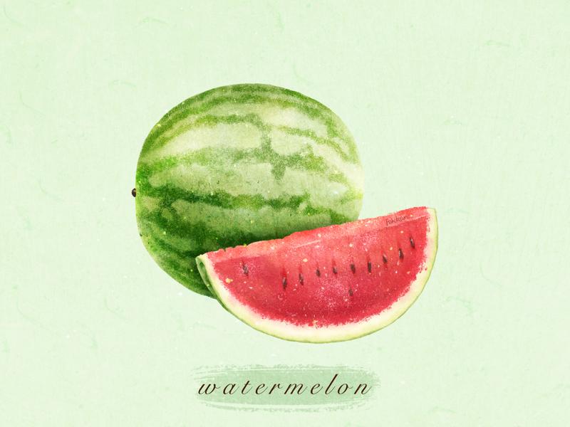 西瓜🍉 illustration