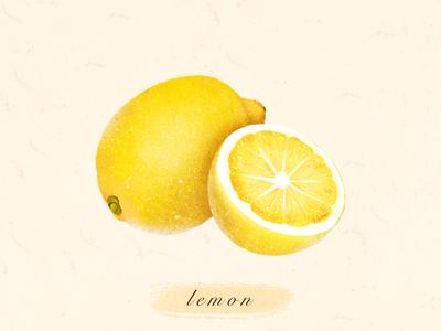 水果:柠檬🍋