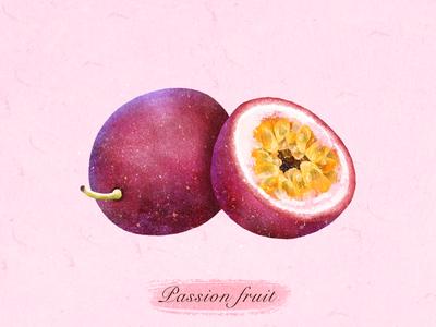 水果:百香果✨