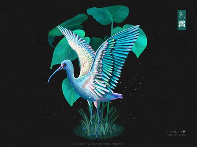 《飞鸟集》-彩鹮