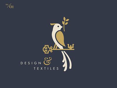 WHISTLEBAIT textiles design w key bird