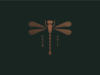 Dragonfly insect dragonfly logo