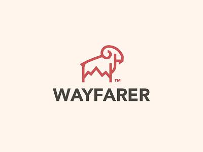 Wayfarer 01 logo mountain goat