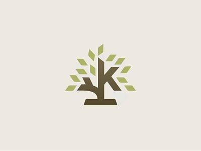 Tree k logo tree