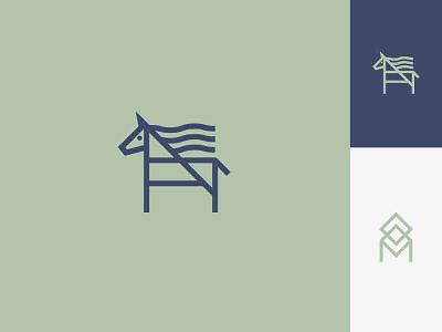 Moohah icon symbol animal logo horse