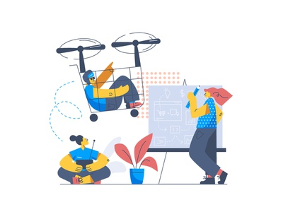 Streamflow ecommerce app ecommerce cartoon invention branding ui design illustration