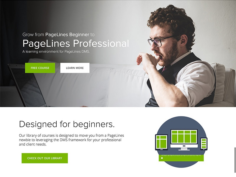 PageLines Academy Redesign