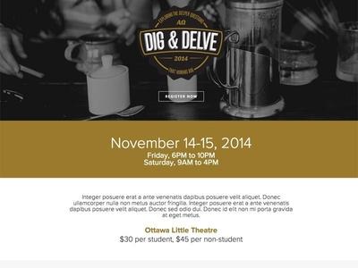 Dig & Delve Conference