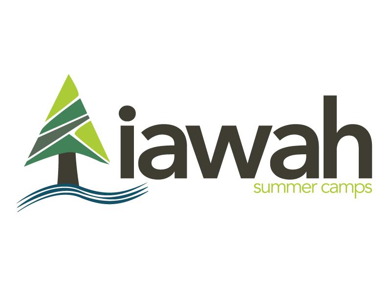 Camp IAWAH logo summer camp camping