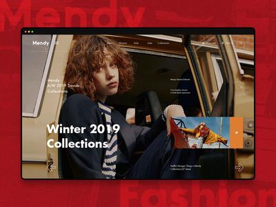 Mendy - Fashion store slider