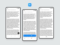 Marron Reading App- Case Study