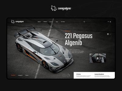 Sanguigno - Automotive Website Design