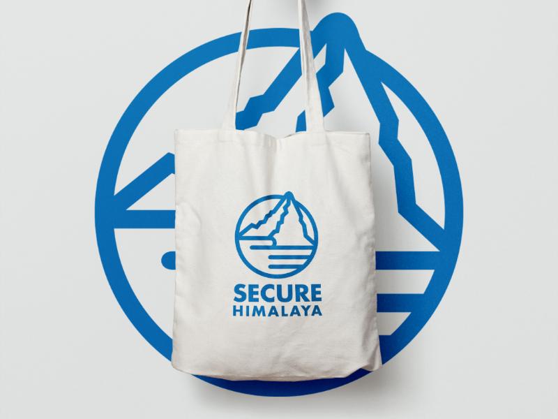 SECURE Himalaya (Unofficial) secure himalaya logo design logo branding brand mark brand identity