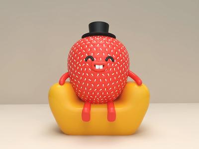 Mr.Strawberry