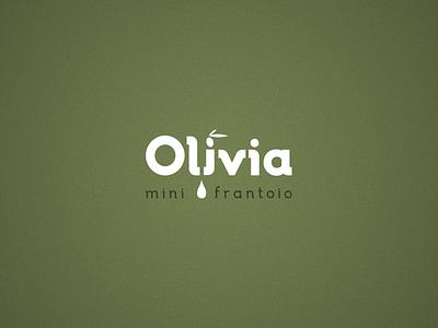 Olivia logo design branding vectors design logotype logo olive oil olivia