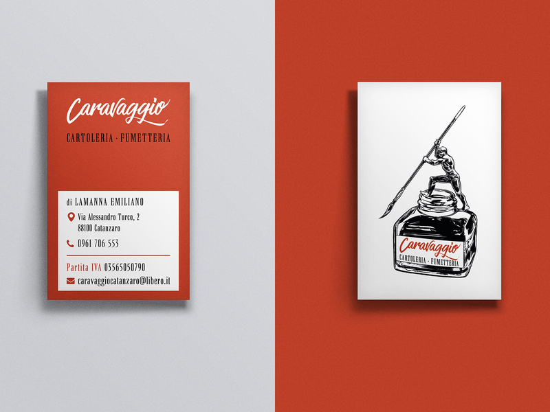Caravaggio Business Card