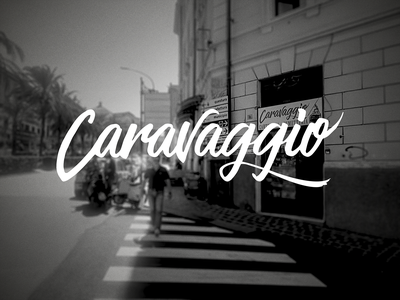 Caravaggio Custom Type custom lettering custom type typography vector vectors logotype design logo