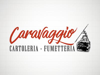 Caravaggio Sign sign signage illustration art logo design typography vector illustration vectors logotype design logo