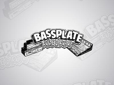 Bassplate Records Logo