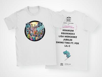Red Bull Music Odyssey T-shirt