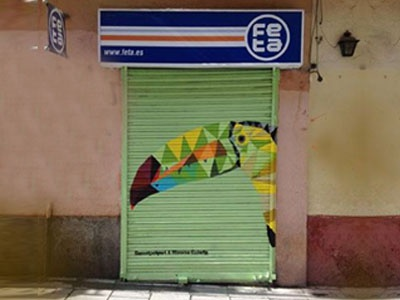 Street Art Pinta Malasaña 2017