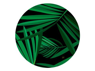 Illustration 'Palms'