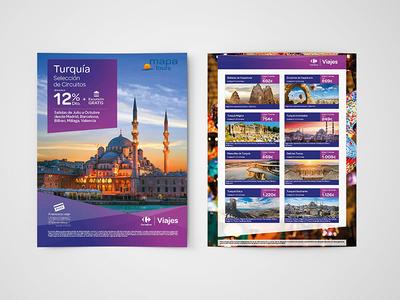 Flyer A4 Design Turquía