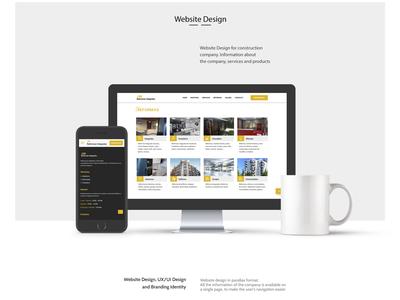 Website UX/UI Design