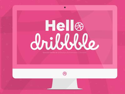 Hello Dribbble! shot first shot hello dribbble hello