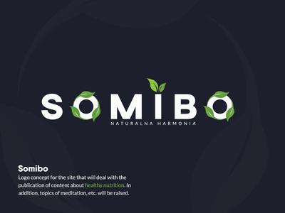 Somibo - Logo concept green nature concept site brand indentity logo