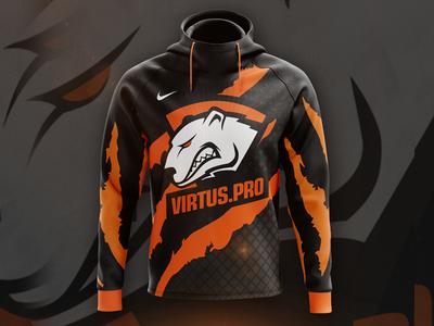Virtus.pro - Hoodie Concept clothes merch design games e-sport virtus pro hoodie