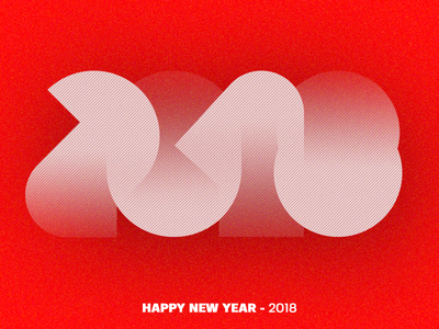 Happy New Year 2018 / 2