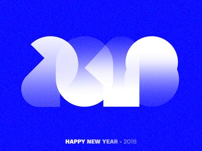 Happy New Year 2018 / 3