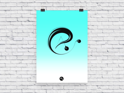 Capital @ / Digital calligraphy